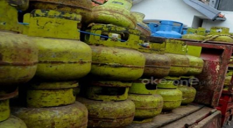 Ilustrasi gas elpiji 3 kg. (Foto: dokumentasi Okezone)