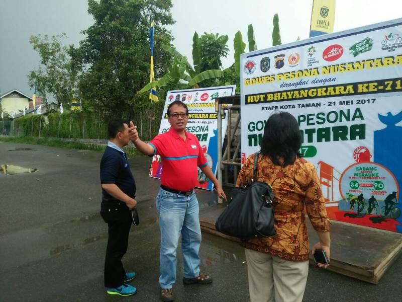 Persiapan Gowes Nusantara dan Galadesa di Bontang Sudah 100 Persen