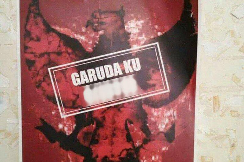 Poster provokatif di Undip. (Foto: Istimewa)