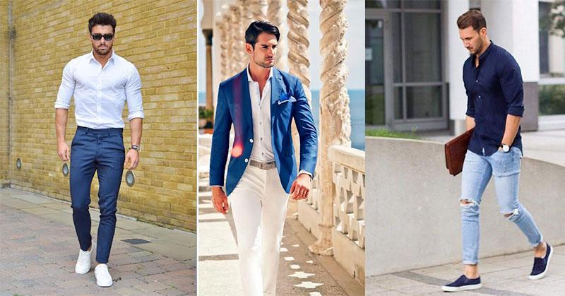 Tampil Stylist dengan Outfit Serba Biru untuk Pria  Okezone Lifestyle