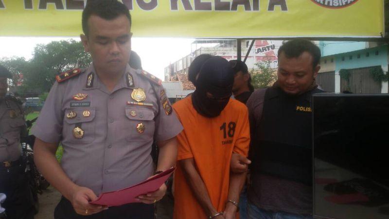 Bapak Ini Tega Perkosa Anak Kandungnya 40 Kali (Foto: Mewan/Okezone)