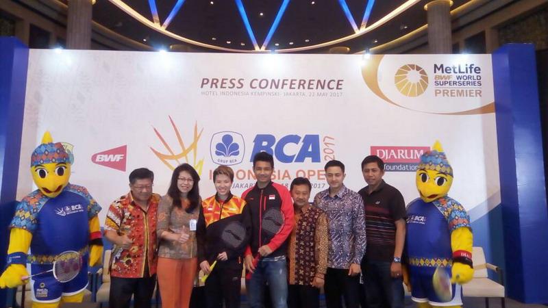 Istora Senayan Direnovasi, Indonesia Open 2017 Digelar di Tempat Lain