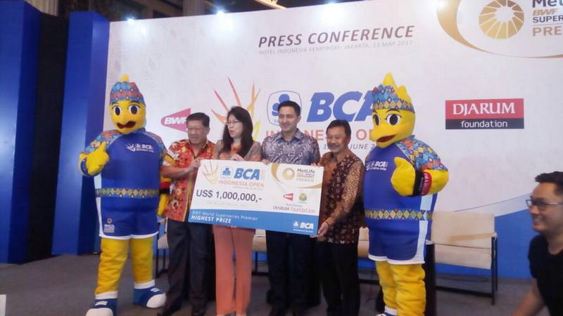 Jadi Turnamen Terbaik di Dunia, Indonesia Open 2017 Siapkan Total Hadiah Fantastis