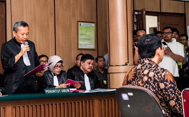 Jaksa Belum Putuskan Cabut Banding Ahok, Pengamat: Aneh