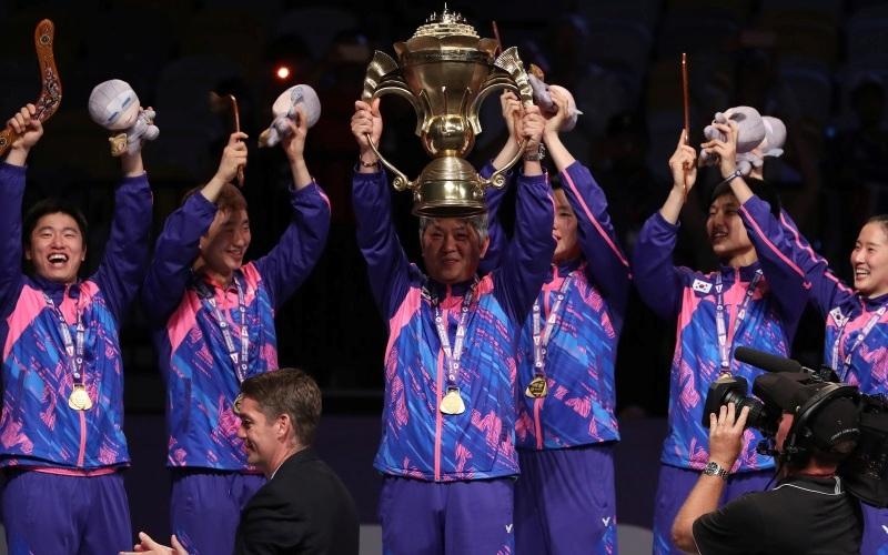 Juarai Piala Sudirman 2017, Pelatih Korea: Kami Persiapkan Tim dengan Baik