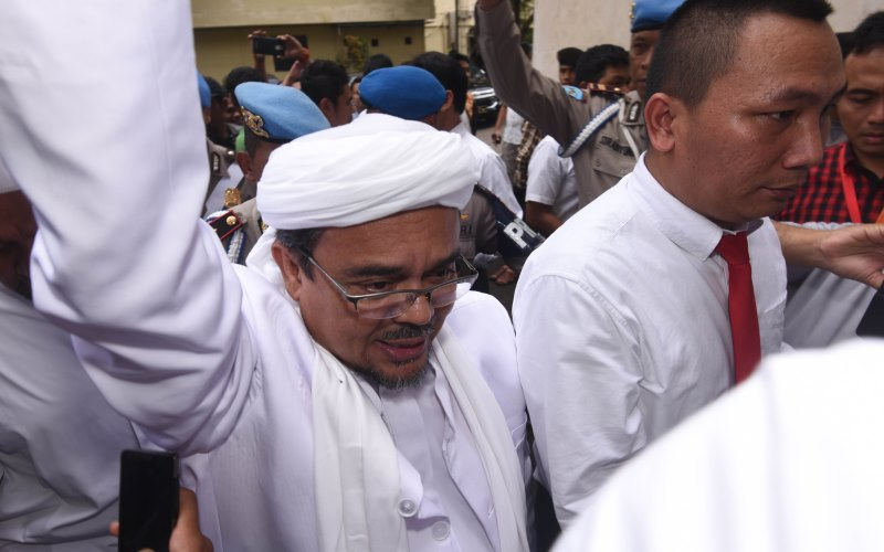 Habib Rizieq Shihab (Foto: Okezone)
