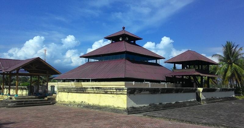 Berdiri Di Atas Pura Masjid Indrapuri Saksi Bisu Peradaban Islam