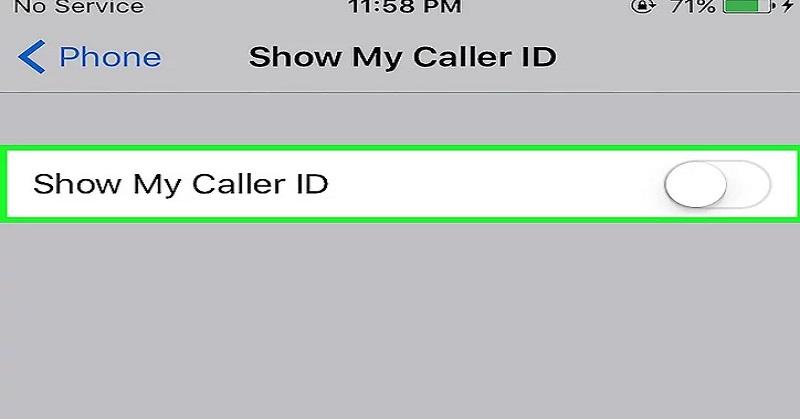 Langkah-Langkah Sembunyikan Nomor Telefon di iPhone