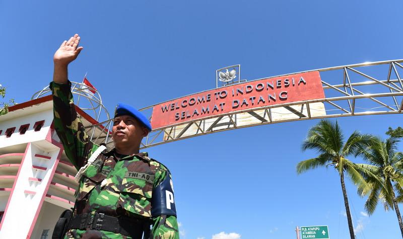 Pangdam Udayana Tinjau Prajurit di Perbatasan RI-Timor Leste