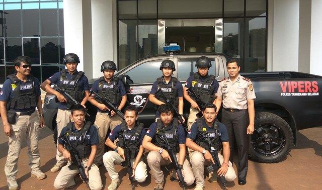 Polres Tangsel resmikan pembentukan Tim Viper (Foto: Hambali)