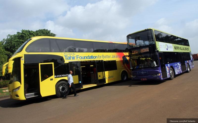 Mantap Bus Tingkat Mewah Mengaspal Di Rute Jakarta Madura