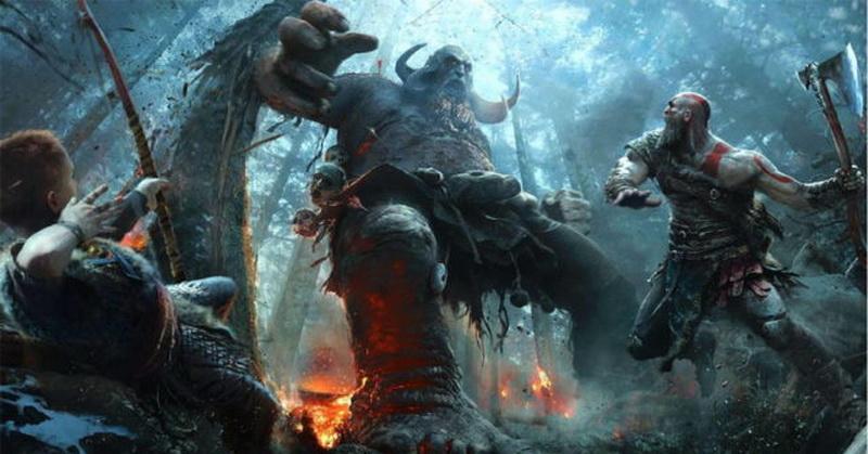 Bocoran Perlihatkan Spanduk Seri God of War Terbaru