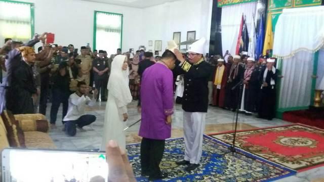 Panglima TNI Dapat Gelar Kehormatan Kesultanan Tidore