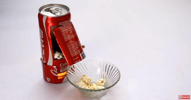 Cara Unik Bikin Mesin Popcorn Sendiri di Rumah
