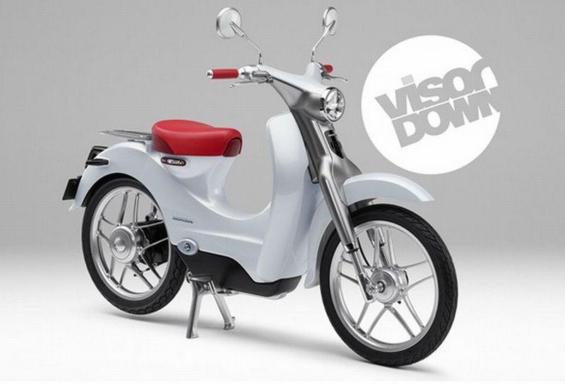 Honda Siapkan Skuter Listrik Baru, Meluncur pada 2018