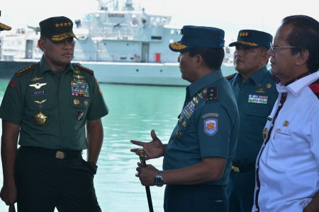 Tinjau Pembangunan Dermaga Kapal Selam, Panglima TNI: Kami Tidak Main-Main!