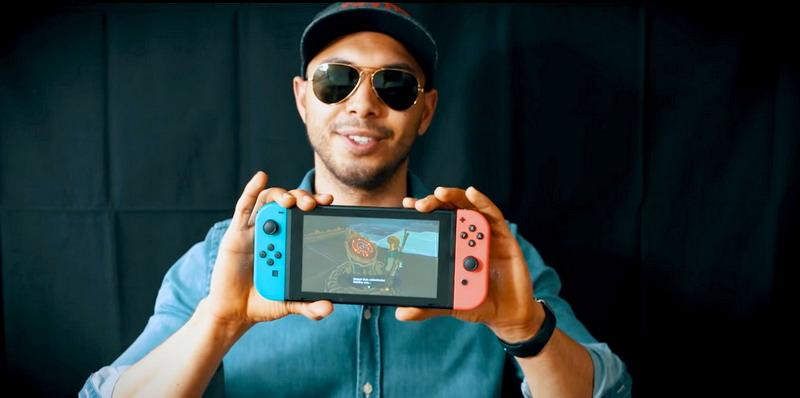 Begini Bentuk Nintendo Switch Setelah Jatuh dari Ketinggian 300 Meter