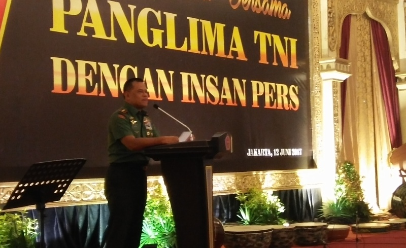 Jenderal Gatot Nurmantyo: Lewat Media Saya Tahu TNI Kerja atau Tidak