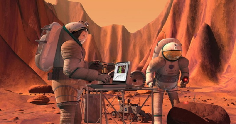 NASA Bakal Bikin Perabot Khusus untuk Planet Mars?