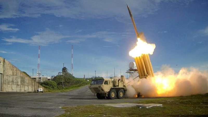 Sistem THAAD yang ditempatkan di Seongju, Korsel (Foto: Reuters)