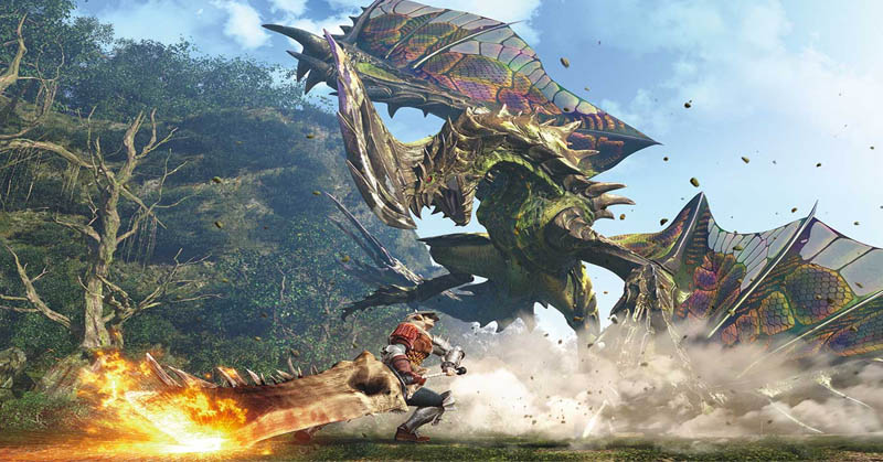 Selain PS4 dan PC, 'Monster Hunter' Juga Sambangi Nintendo Switch