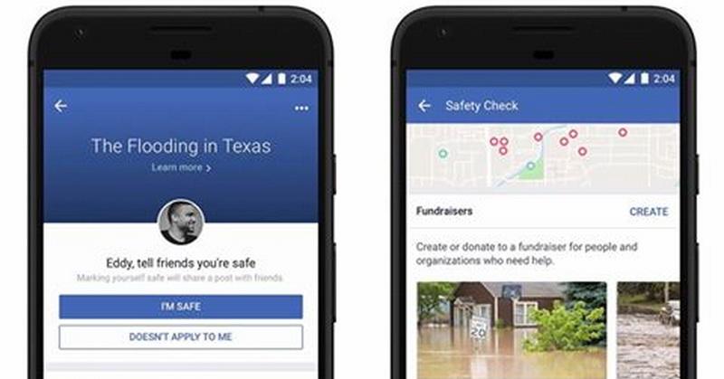 TOP TECHNO: Fitur Baru Facebook Safety Check untuk Menggalang Dana