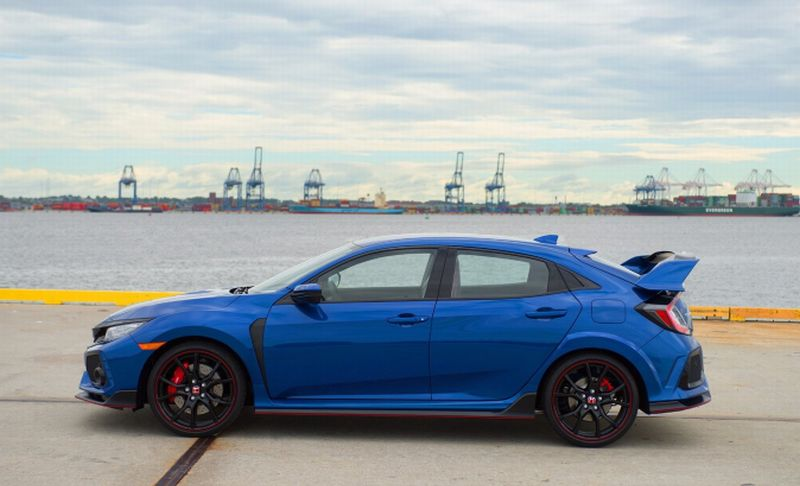Honda Civic Type R (Foto: Carscoops)