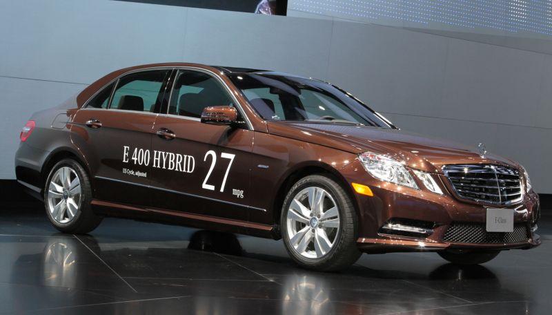 Mercedes Benz E400 hybrid (Foto: Motortrend)