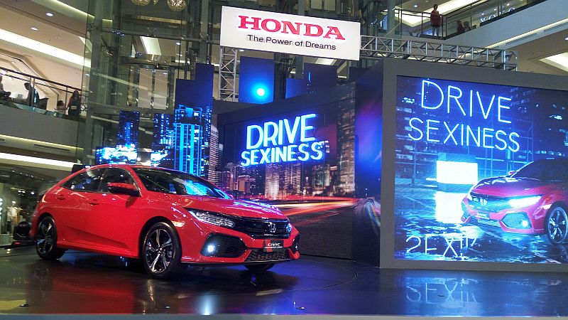 Honda Civic hatchback (Okezone)