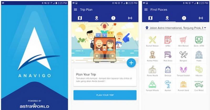 Aplikasi Anavigo Bantu Pemudik Ketahui Kondisi Lalu Lintas