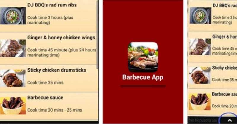 Jajaran Aplikasi Barbeku untuk Perangkat Android Anda