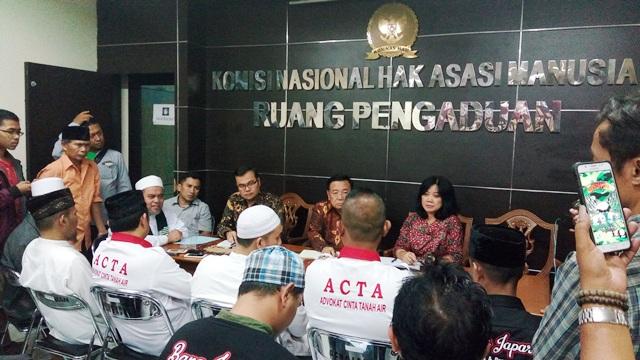 Komnas HAM Bakal Keluarkan Rekomendasi soal Kasus Dugaan Kriminalisasi Ulama & Aktivis