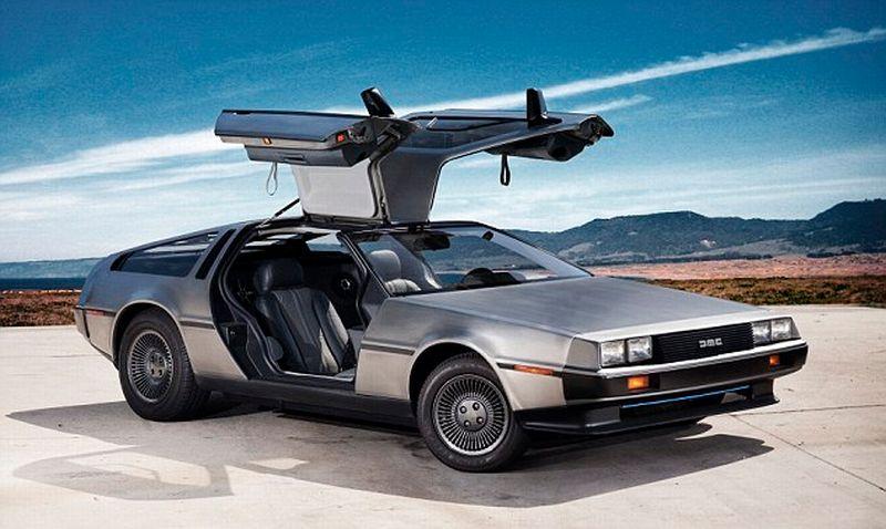 DeLorean DMC-12 (Daily Mail)