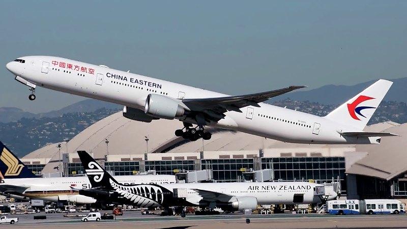 Ilustrasi. Pesawat China Eastern. (Foto: Youtube)