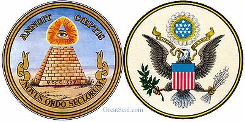 Inilah bagian depan dan belakang lambang resmi Negeri Paman Sam (Foto: Greatseal.com)