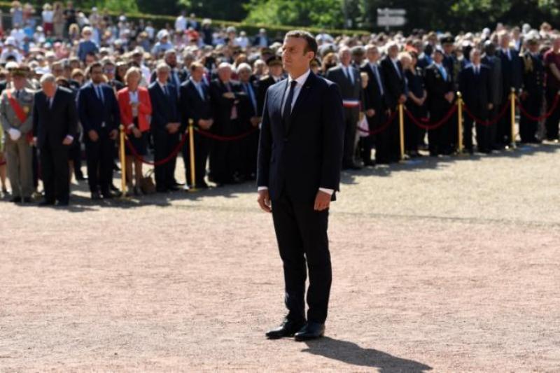 Presiden Prancis Emmanuel Macron (Foto: Bertrand Guay/Reuters)