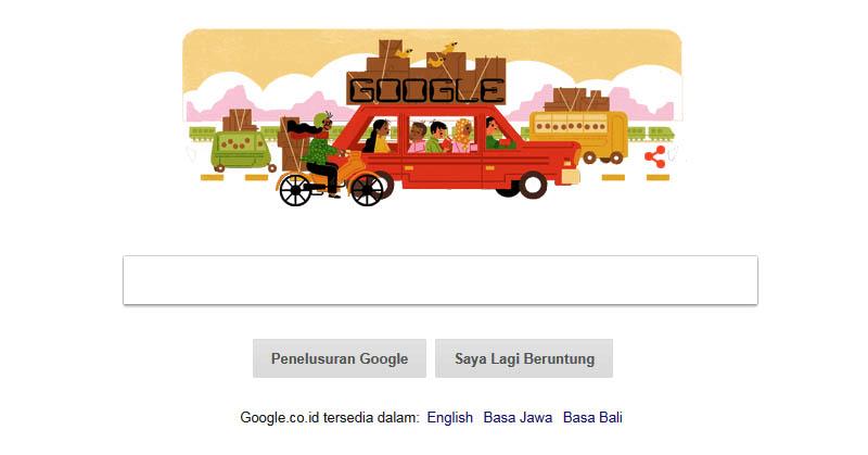 Google Rayakan Tradisi Mudik di Indonesia