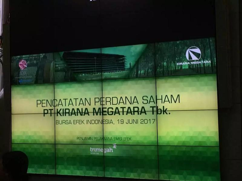 Resmi IPO, Kirana Megatara Alokasikan Dana untuk Bayar Utang