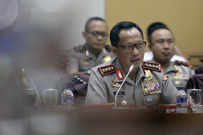 Siang Ini, Kapolri Datangi KPK Bahas Kasus Teror Novel Baswedan
