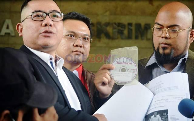 Tim kuasa hukum Hary Tanoesoedibjo. (Foto: Okezone)