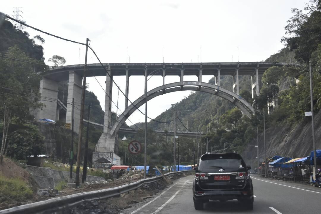 Jalan Nasional Padang By Pass-Bukit Tinggi-Batas Riau Siap Layani Pemudik