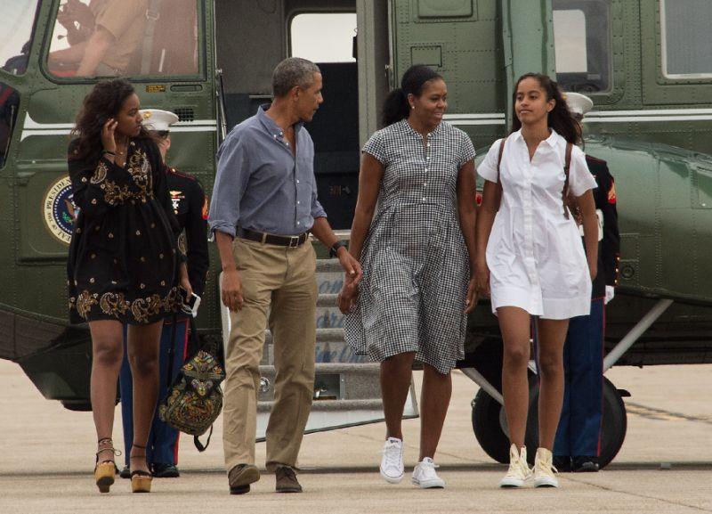 Ilustrasi. Obama dan keluarga akan berlibur ke Indonesia. (Foto: Nicholas Kamm/AFP)