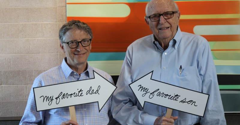 Bill Gates dan Mark Zuckerberg Rayakan Hari Ayah di Medsos