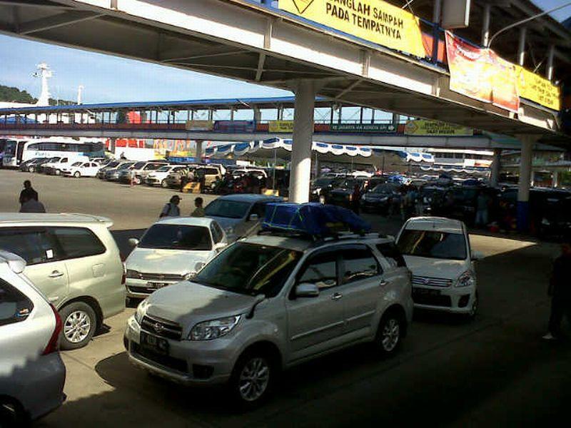 Situasi di Pelabuhan Merak (Foto: Rasyid/Okezone)