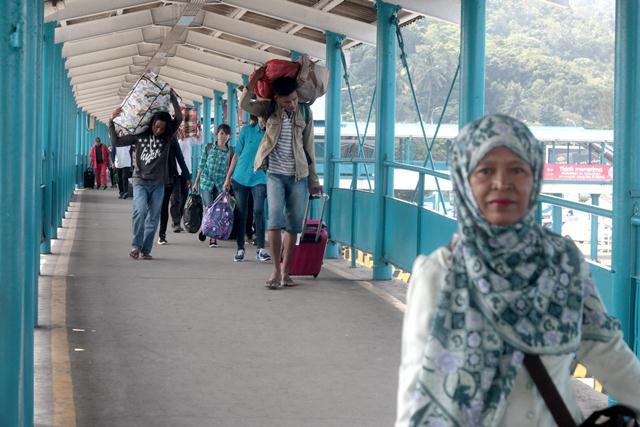 Pelabuhan Merak (Foto: Feri Usmawan)