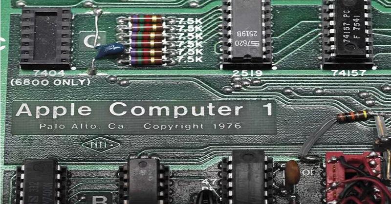 Komputer Pertama Apple Dilelang dengan Harga Fantastis