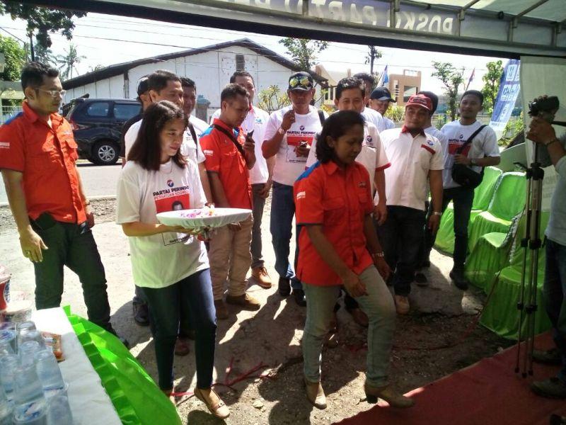 Posko Mudik DPW Rescue Perindo Jatim Tekan Angka Kecelakaan Lalu Lintas