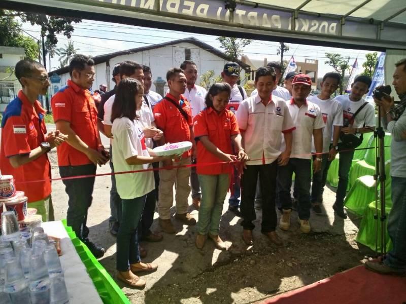 Ini Fasilitas Posko Mudik DPW Rescue Perindo Jatim