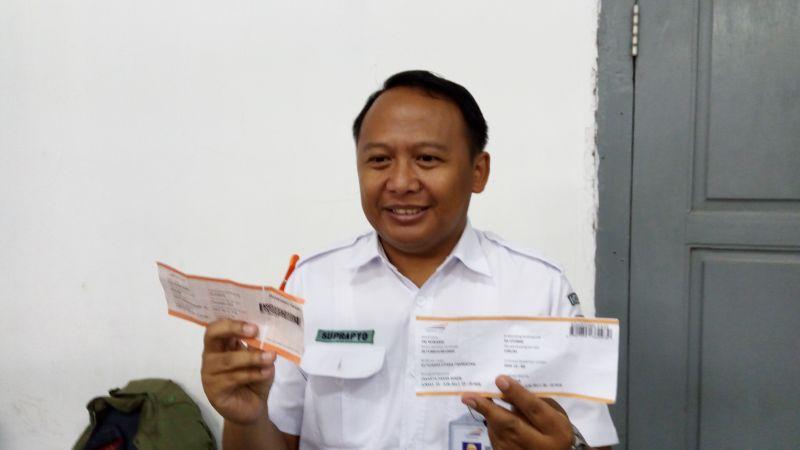 PT KAI Daop 1 Cari Dalang di Balik Beredarnya Tiket Palsu untuk Pemudik