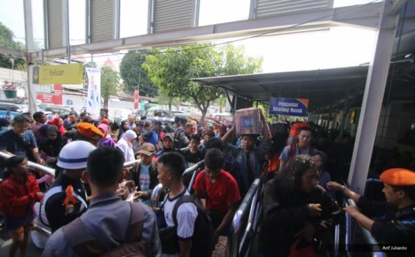 Lebaran 2017, 16.618 Ribu Pemudik Tinggalkan Jakarta Melalui Stasiun Gambir